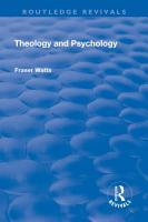 Theology and Psychology PDF