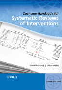 Cochrane Handbook for Systematic Reviews of Interventions Book