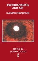 Psychoanalysis and Art PDF