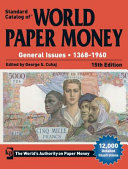 Standard Catalog of World Paper Money  General Issues  1368 1960 PDF