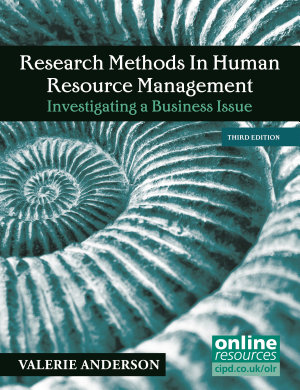 Research Methods in Human Resource Management PDF