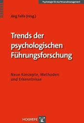 Trends der psychologischen F  hrungsforschung PDF