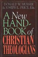 A New Handbook of Christian Theologians PDF