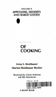 Appetizers  Desserts and Baked Goods PDF