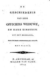 De geschiedenis van eene officiers weduwe en hare kinderen