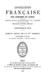 Compte rendu: Volume18,Partie1