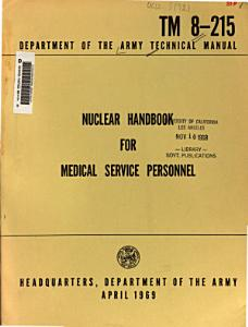 Nuclear Handbook for Medical Service Personnel PDF
