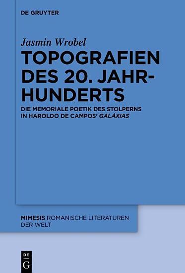 Topografien des 20  Jahrhunderts PDF