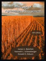 Principles of Agribusiness Management PDF
