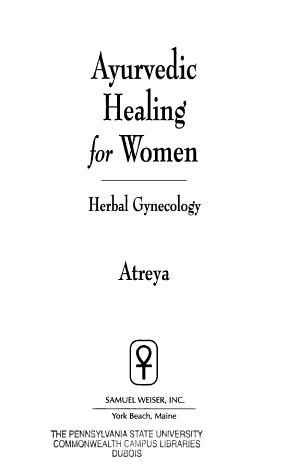 Ayurvedic Healing for Women