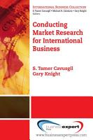 Conducting Market Research for International Business PDF