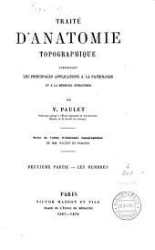 Traité d'anatomie topographique: Volume4