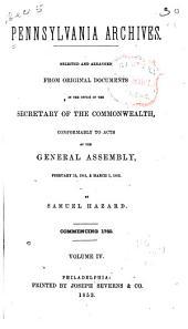 Pennsylvania Archives: Volume 4