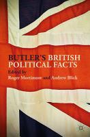 Butler s British Political Facts PDF