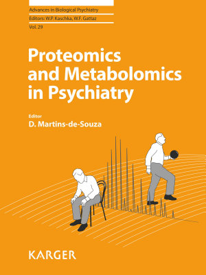 Proteomics and Metabolomics in Psychiatry PDF