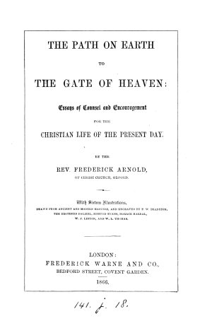 The path on earth to the gate of heaven, essays