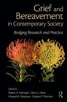 Grief and Bereavement in Contemporary Society PDF