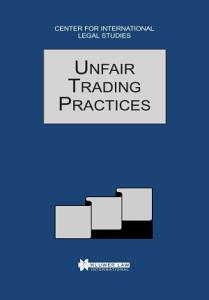 Unfair Trading Practices Book