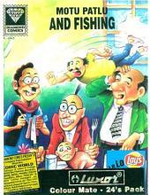 Motu Patlu and Fishing English