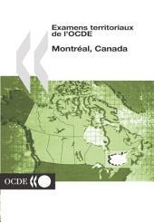 Examens territoriaux de l'OCDE Examens territoriaux de l'OCDE : Montréal, Canada 2004