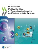 OECD Skills Studies Making the Most of Technology for Learning and Training in Latin America PDF