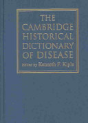 The Cambridge Historical Dictionary of Disease PDF