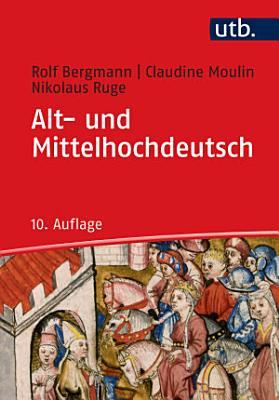 Alt  und Mittelhochdeutsch PDF