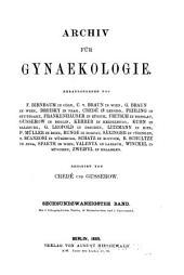 Arch gynakol: Volume 26