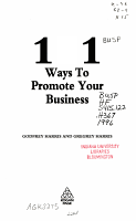 101 Ways to Promote Your Business PDF