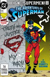 Adventures of Superman (1986-2006) #501