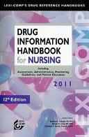 Drug Information Handbook for Nursing PDF