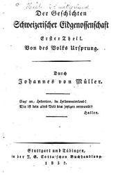 Johannes von Müllers sämmtliche Werke: Volumes7à8