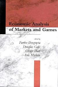 Economic Analysis of Markets and Games PDF
