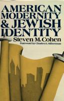 American Modernity and Jewish Identity