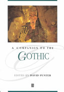 A Companion to the Gothic PDF