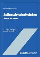 Au  enwirtschaftslehre PDF