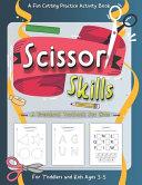 Scissor Skills Preschool Workbook for Kids