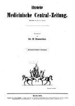 Allgemeine medizinische Zentral Zeitung PDF