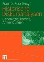 Historische Diskursanalysen PDF