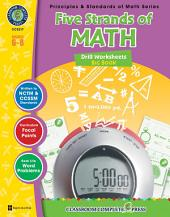 Five Strands of Math - Drills Big Book Gr. 6-8