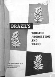 Brazil s Tobacco Production and Trade PDF