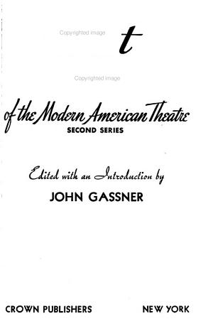 Best Plays of the Modern American Theatre PDF