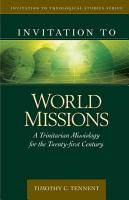 Invitation to World Missions PDF