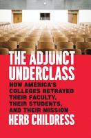 The Adjunct Underclass PDF