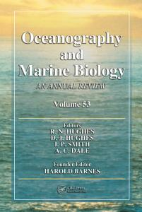 Oceanography and Marine Biology Book