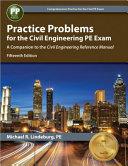 Practice Problems For The Civil Engineering Pe Exam Book PDF