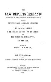 The Law Reports (Ireland): Volume 23
