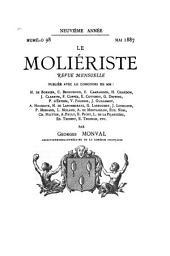 Le Moliériste: Volume9