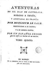 Aventuras de Gil Blas de Santillana, 5