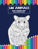 Adult Coloring Book Stress Relieving Designs   100 Animals PDF